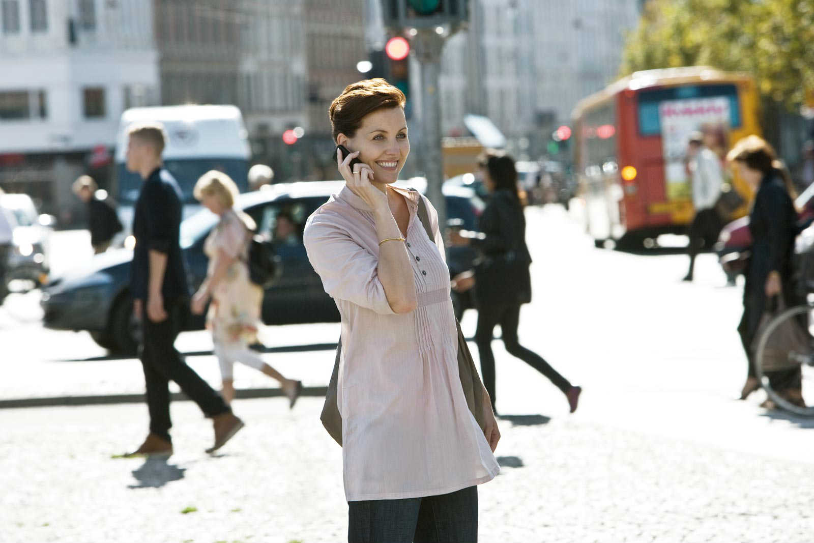 dex-woman-talking-cell-phone-on-street